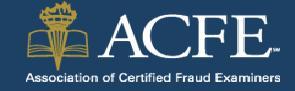 Association of Certified Fraud Examiner